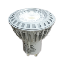 LED Bulb -  LED Spotlight - 6W GU10 СОВ Plastic 4500K